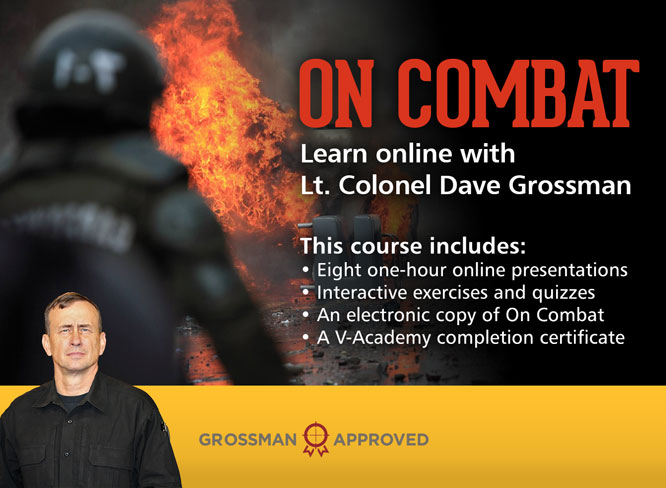 Learn online with Lt. Col. Dave Grossman