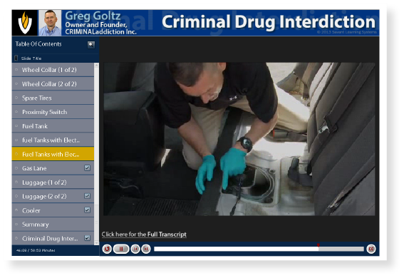 Virtual Academy | Criminal Drug Interdiction