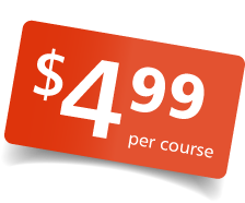 All Courses $4.99
